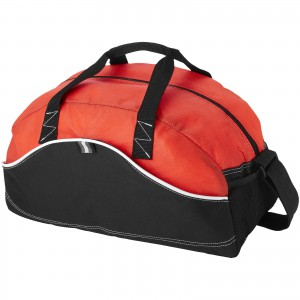 Boomerang sporttáska, piros (válltáska) logózható reklámajándék